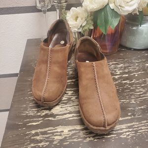 Ariat Womens Suede Clogs Sz 7.5